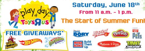 Toys R Us Play Day