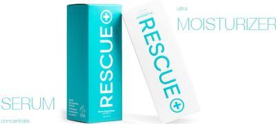 RESCUE Skin Serum & Moisturizer