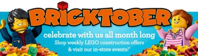 Toys R Us Lego Bricktober Make and Take Event on October 29, 2016 and Pokemon Card Event on October 30, 2016