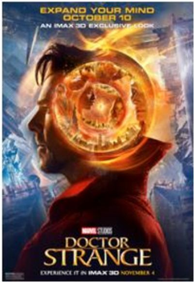 SeeItFirst Free Sneak Peak of Doctor Strange and a Limited Edition Poster
