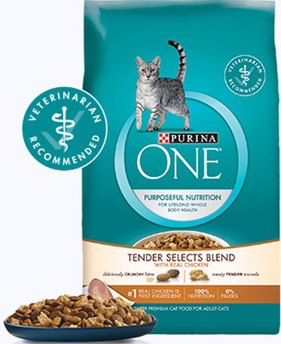 Purina One Tender Selects Cat Food