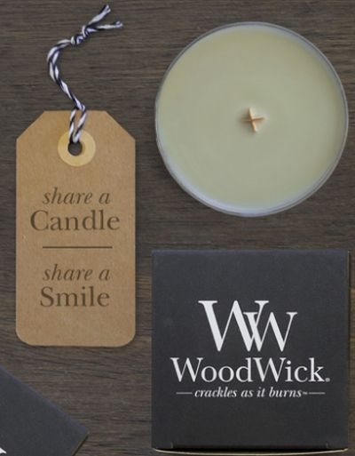 WoodWick shareascent.com Candle