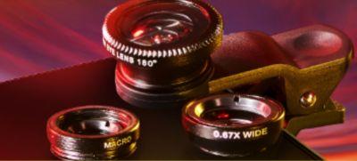 Black & Mild Mobile Lens Kit for Cell Phones