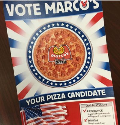 Marco's Slice of the Community Free Pizza