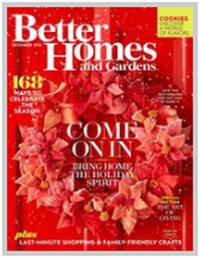 freebizmag Free One Year Subscription to Better Homes and Gardens Magazine - US