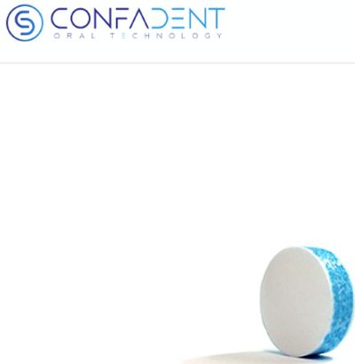 Confadent Free Futuristic Peppermint Gum Sample - US
