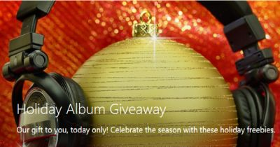 Microsoft Holiday Album Giveaway Free Christmas MP3 Album Downloads