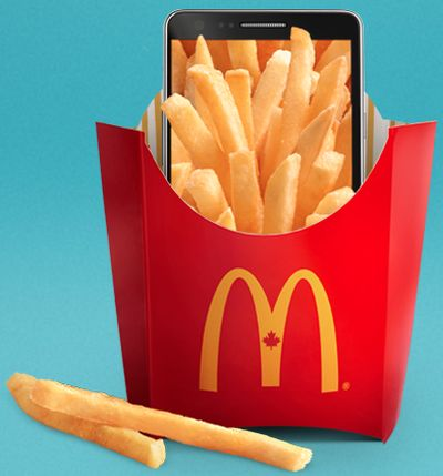 McDonald's Canada MyMcD's Free Big Mac or 6-Piece McNuggets When Downloading and Registering the App - Canada