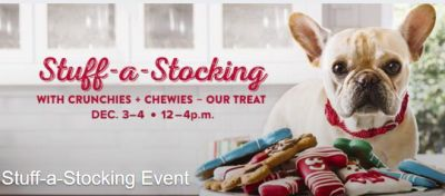 PetSmart Stuff a Stocking Event - December 3 - 4, 2016, US