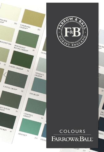 Farrow & Ball Wallpapers Free Colour Card