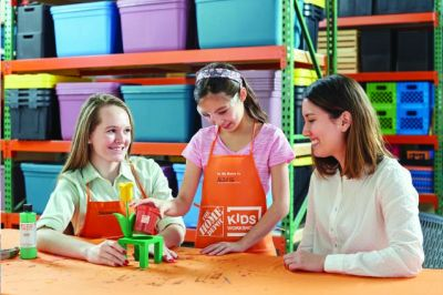 Home Depot Kids Workshop Register for a Free Build a Flower Pot on Saturday, May 6, 2017, 9am - 12pm