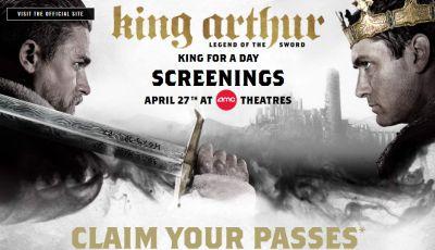 AMC Free King Arthur: Legend of the Sword Movie Screening Tickets - US