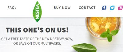 NESTEA Free Iced Tea Coupon - US