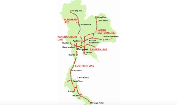 引用:Thailand Train