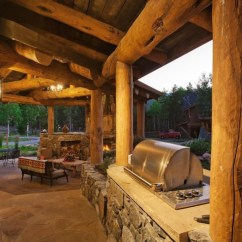 Rustic Outdoor Kitchen Home Depot Counters Great Ideas For Kitchens Freestyle Pools And Spas Inc