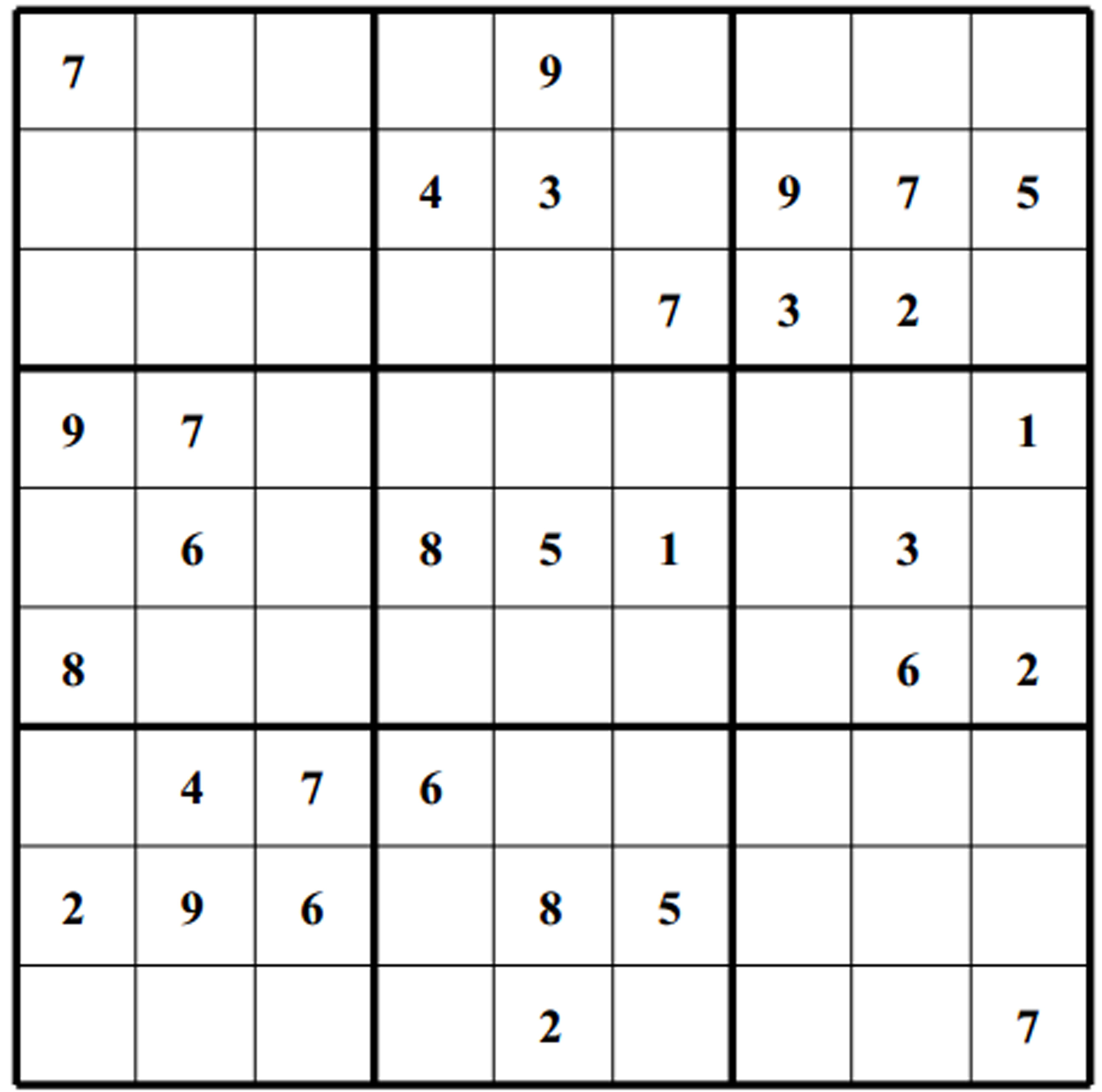 Mesmerizing Medium Sudoku Printable