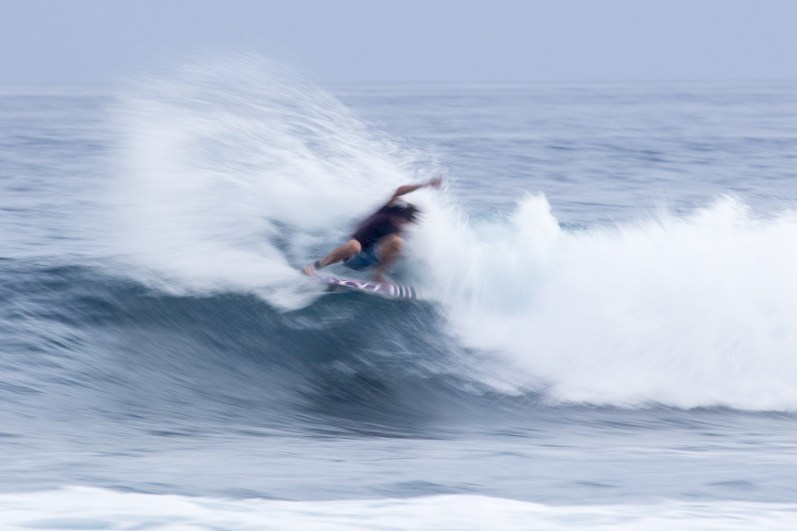 Big Island's Mayor of surfing,CJ Kanuha, making a statement - Tyler Rock
