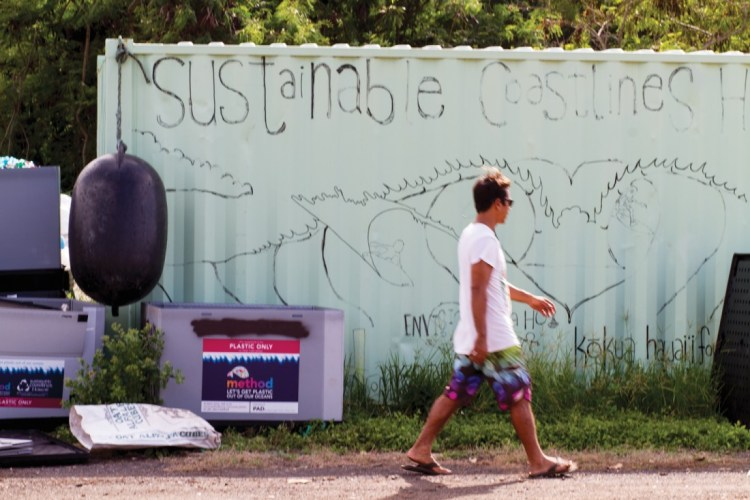 Sustainable Coastlines founder Kahi Pacarro Photo: Keoki
