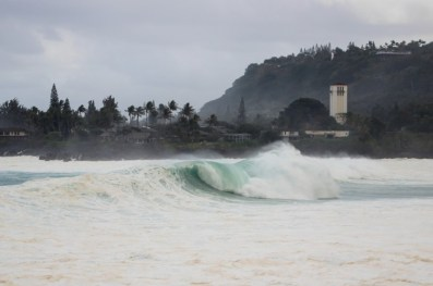 Waimea Bay Photo: John Weaver