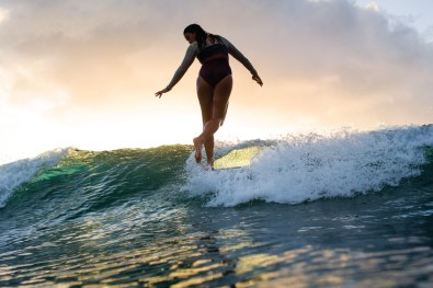 Grace, style, and poise rolled into one: this is how you can describe Rosie Jaffurs surfing at Chuns. She's definitely my favorite person to shoot.