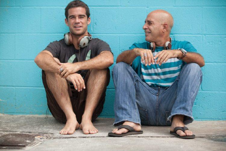 Mason and Michael Ho Photo: Steve Sherman