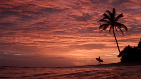 Sunset. Photo: Dane Grady