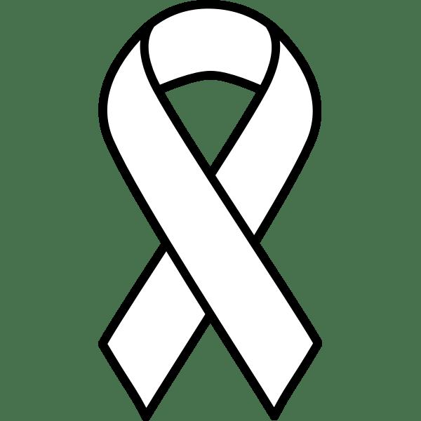 Cancer Ribbon Drawing : cancer, ribbon, drawing, Cancer, Ribbon