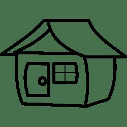Cartoon house 1573901364 Free SVG