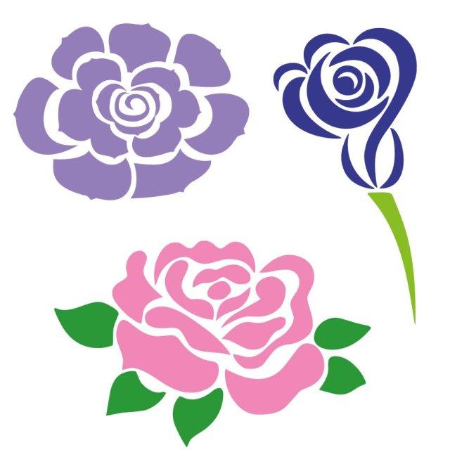Floral Elements SVG