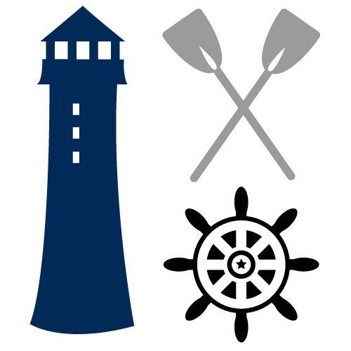 Lighthouse Nautical Elements SVG