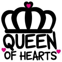 Quote Queen of Hearts SVG