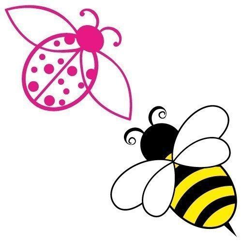 Ladybird Bumble Bee SVG