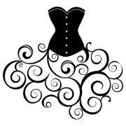 dress svg cut file - free design