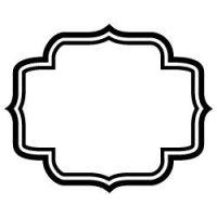 Lotus Frame SVG