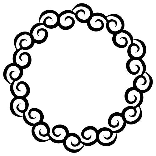 Free Monogram SVG cut file - FREE design downloads for your