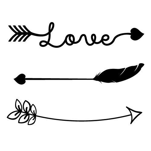 Arrows SVG cut file - FREE design downloads for your ...
