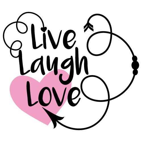 Download Free SVG Files | SVG, PNG, DXF, EPS | Quote Live Laugh Love
