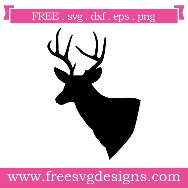 Free svg cut files deer silhouette. FREE downloads includes SVG, EPS, PNG and DXF files for personal cutting projects. Free vector / printable / free svg images for cricut