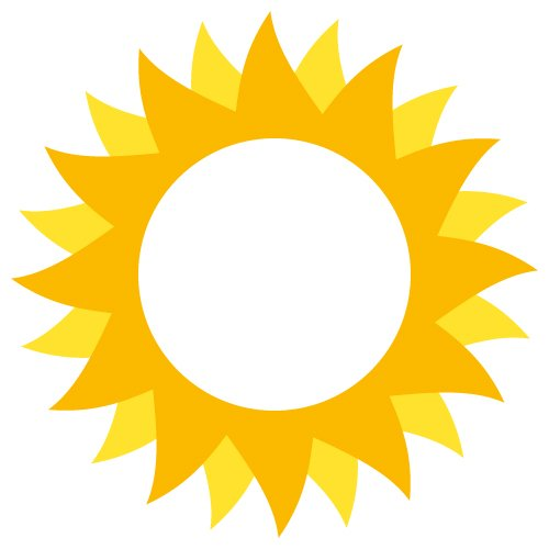 graphic relating to Printable Pictures of the Sun identified as Absolutely free sunlight slice record - Cost-free style downloads for your chopping