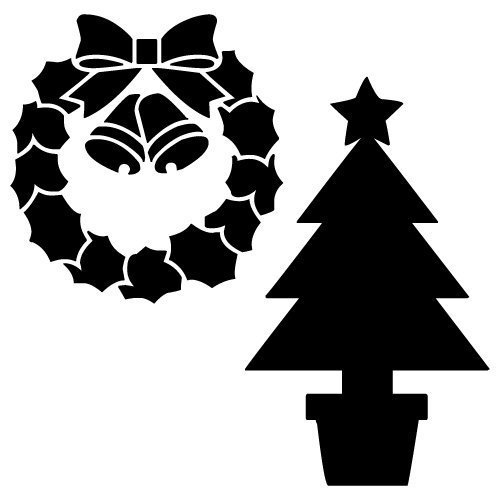 Free Christmas tree silhouette cut files at www.freesvgdesigns.com. FREE downloads includes SVG, EPS, PNG and DXF files for personal cutting projects. Free vector / printable / free svg images for cricut