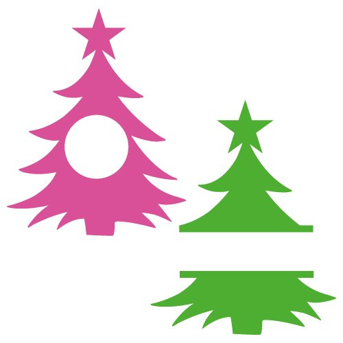 Free Christmas tree monogram frame cut files at www.freesvgdesigns.com. FREE downloads includes SVG, EPS, PNG and DXF files for personal cutting projects. Free vector / printable / free svg images for cricut
