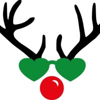 Free reindeer with sunglasses cut files at www.freesvgdesigns.com. FREE downloads includes SVG, EPS, PNG and DXF files for personal cutting projects. Free vector / printable / free svg images for cricut