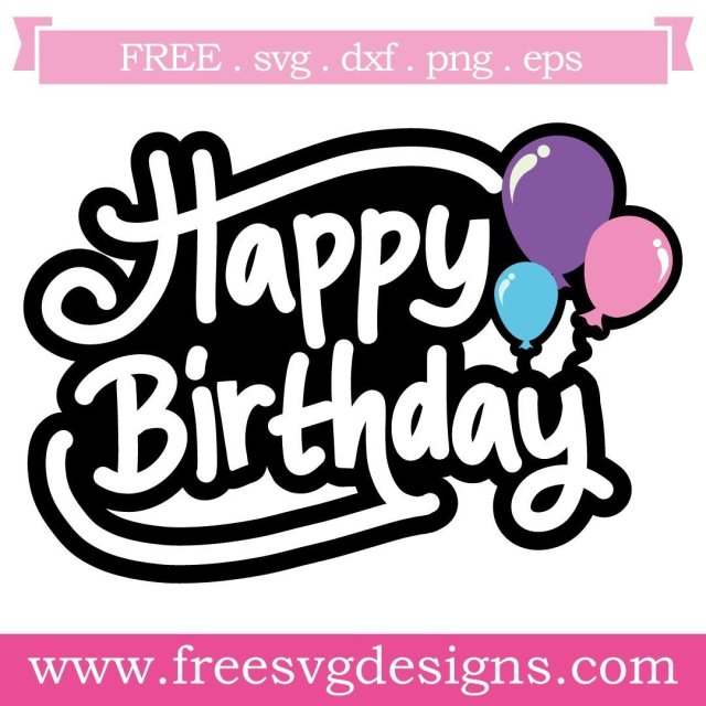 Free Quote SVG cut files at www.freesvgdesigns.com. Our FREE downloads includes OTF, TTF, SVG, PNG and DXF files for personal cutting projects. Free vector / printable / free svg images for cricut #freesvg #diycrafts #svg #cricut #silhouettecameo #svgfile #quote #happybirthday