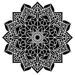 Free Mandala SVG design