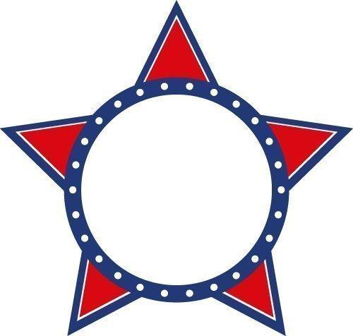 Free Star frame SVG files