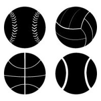 Free sports balls SVG files