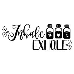 Quote Inhale Exhale SVG