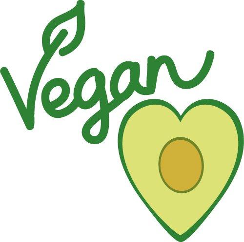 Vegan Avo Heart SVG