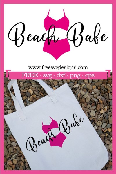 Beach Babe SVG
