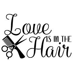 Download Free SVG Files   SVG, PNG, DXF, EPS   Love is in the Hair ...